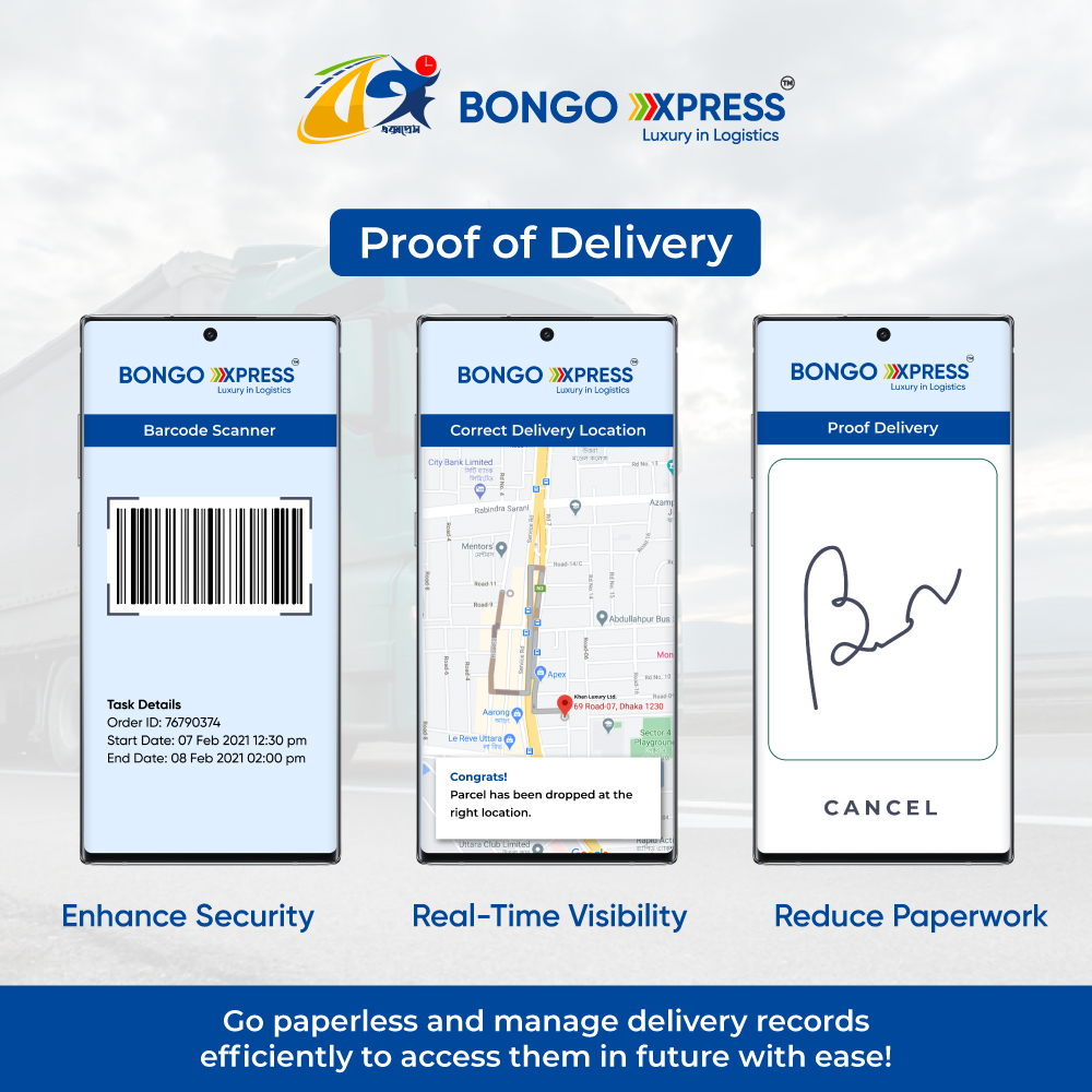 Contactless Proof of Delivery: Barcoding Technology and E-way bills.